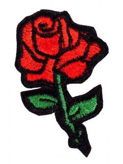 Апликация роза 8 см.