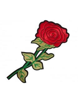 Апликация със залепване - голяма роза 23 см.