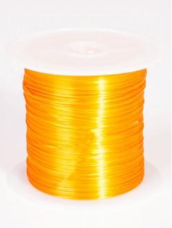 Силиконов ластик за гривни - оранжев