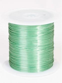 Силиконов ластик за гривни - зелен