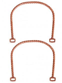Дръжки за чанта с декорация