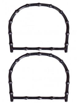 Комплект дръжки в черен цвят