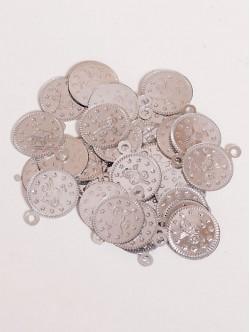 Сребристи парички 15 мм.