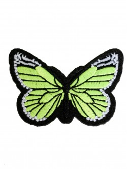 Бродерия на пеперуда - жълта