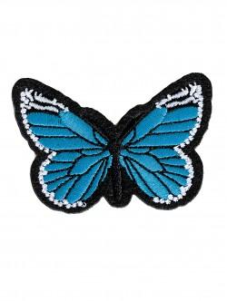 Бродерия на пеперуда - синя