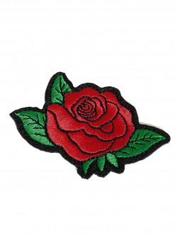 Червена роза за залепване