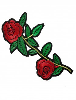 Апликация - двойна роза