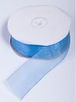 Органза 40 мм. синя