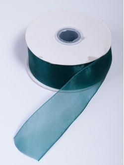 Органза 40 мм. зелена