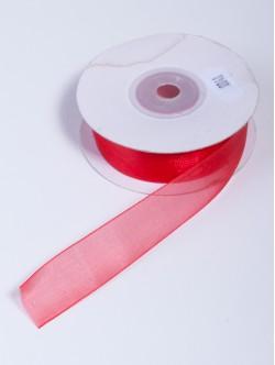 Органза 20 мм. червена