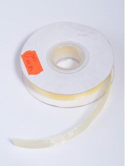 Органза 10 мм. жълта