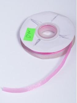 Органза 10 мм. светло розова