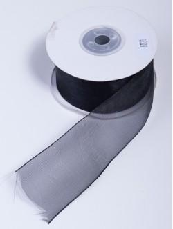 Органза 40 мм. черна