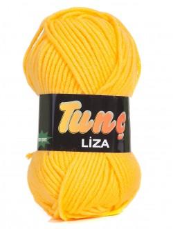 Прежда Лиза жълта