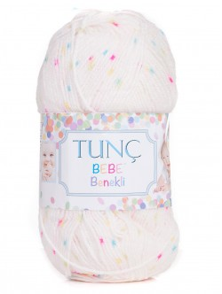 Бебешка прежда Bebe Benekli - код 5408