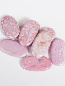 Изкуствени камъни - плоски розови