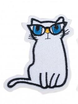 Стикер за дрехи - коте