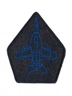 Милитъри бродерия със самолет