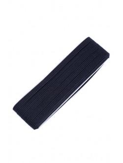 Плосък ластик 5 мм. черен