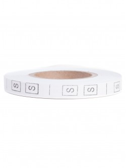 Текстилни етикети - размер S