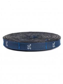 Текстилни етикети - сини - размер XXXL