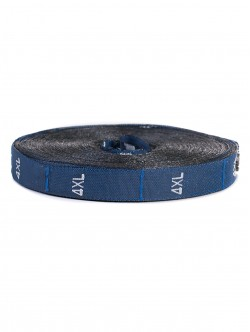 Текстилни етикети - сини - размер XXXXL