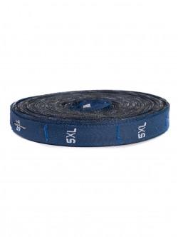 Текстилни етикети - сини - размер XXXXXL