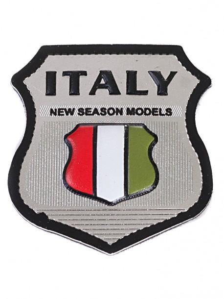Сребриста апликация Italy