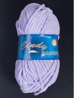 Прежда за шалове - лилава