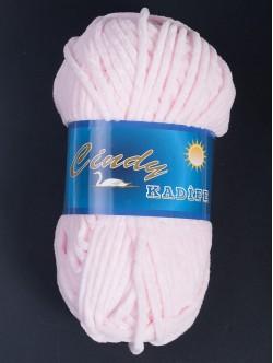 Прежда за шалове - светло розова