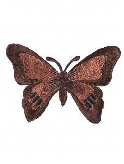 Малка кафява пеперуда за залепване