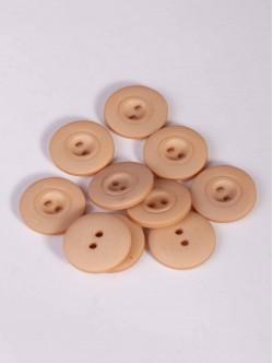 Бежови копчета - 20 мм.