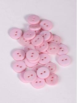 Розови копчета за риза - 10 мм.