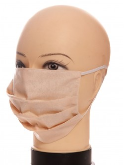 Предпазна маска за лице с ластик
