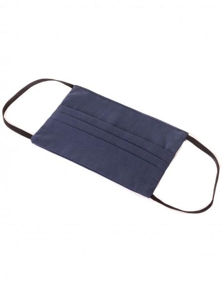 Предпазна маска за лице - тъмно синя