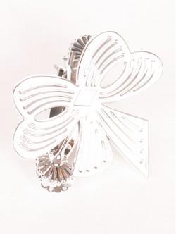 Щипка за перде Панделка - сребро