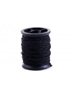 Черен ластичен конец