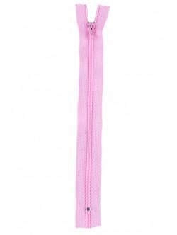 Розов цип за панталон 18 см.