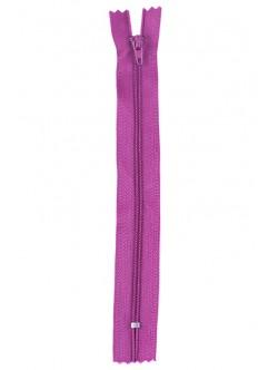 Розов цип за панталон или пола 18 см.