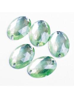 Зелени камъни за зашиване 50 бр.