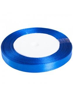 Сатен лента 1 см. турско синьо 25 ярда