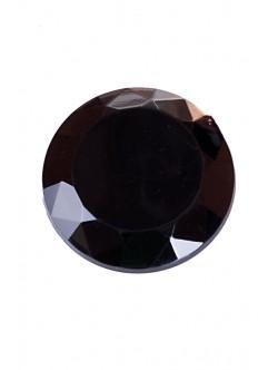 Объл черен камък