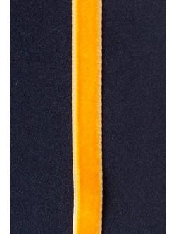 Кадифе лента - оранжева 1 см.