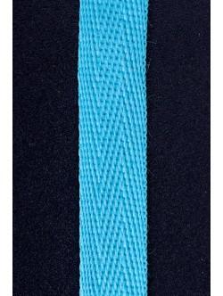 Памучен ширит - син 2 см.