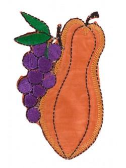 Детска апликация - плодове