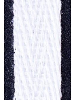 Бял памучен ширит 3 см. - рибена кост