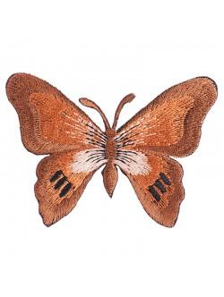 Апликация пеперуда - кафява