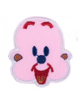 Детска апликация в розово