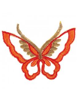 Апликация пеперуда със залепване