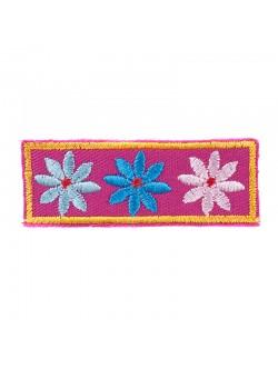 Детска апликация с цветчета
